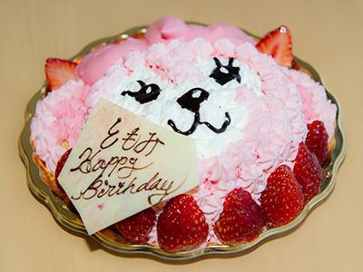 特注オリジナルのバースデーケーキ